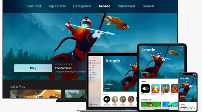 Apple Arcade promising a new age of mobile gaming