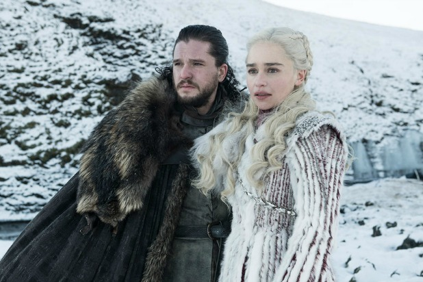 Jon Snow, Daenerys, Game of Thrones season 8