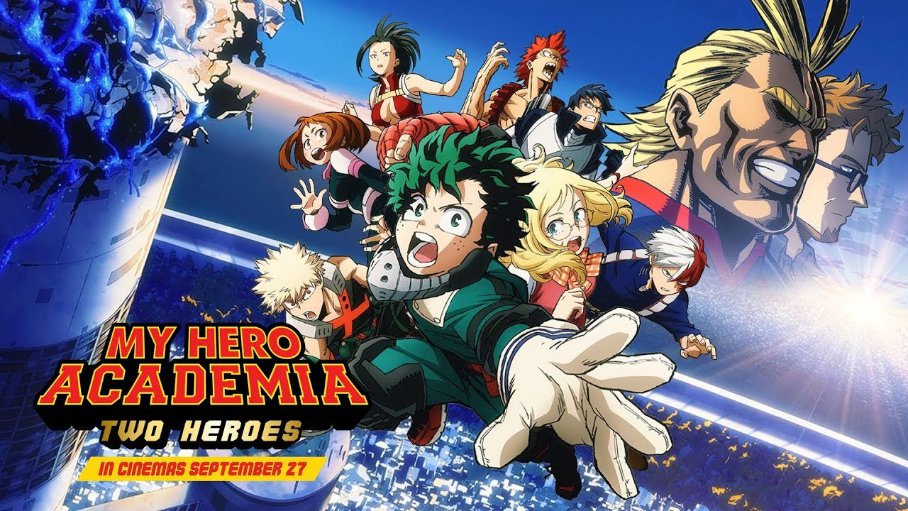Movie Review My Hero Academia Two Heroes Bold Canon