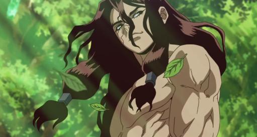 Shishio, dr. stone episode 2