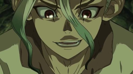 Senku, episode 2 of Dr. Stone