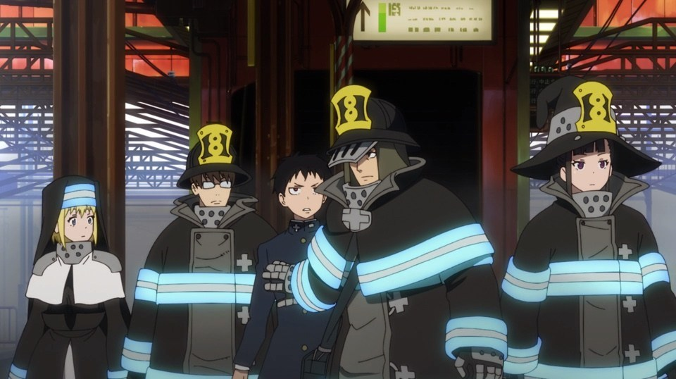 Special Unit 8, Fire Force