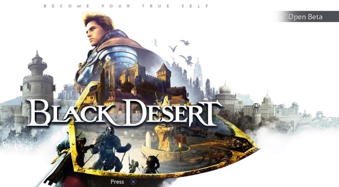 Black Desert PS4 beta test (review)