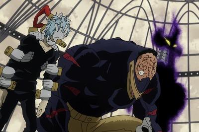 Tomaru and Nomu, My Hero Academia