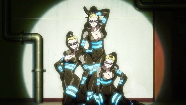 3 angels of the 5th, Fire Force