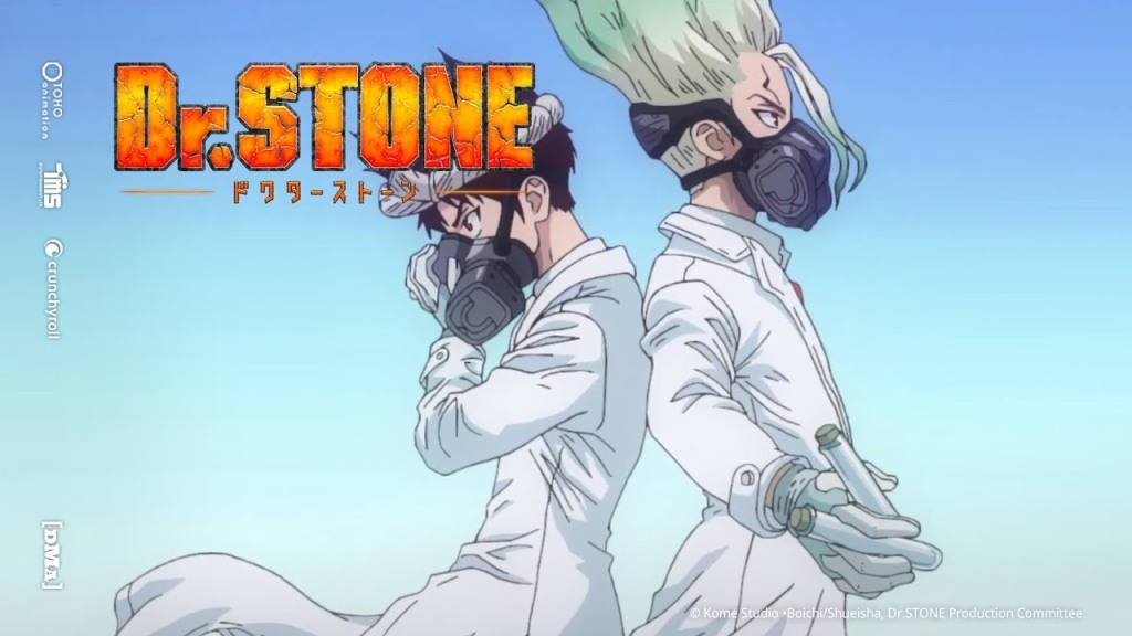 Chrome and Senku, Dr. Stone