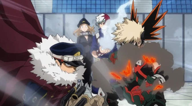My Hero Academia: Relief for the License Trainees | 4 x17 – recap